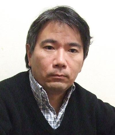 青野文昭氏